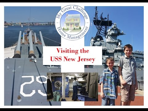 Visiting the USS New Jersey (BB-62) DITL