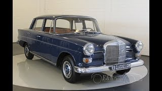 Mercedes-Benz 200 Heckflosse 1967 -VIDEO- www.ERclassics.com