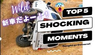 激写!新車JB23のジャンプ横転(;゚∀゚⊂≡⊃バシッ