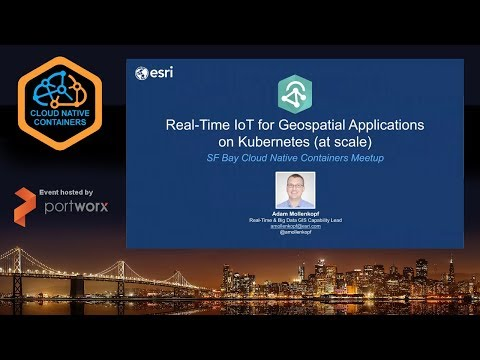 Real-time IoT For Geospatial Applications On Kubernetes At Scale 🌎