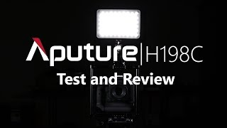 The Most Versatile Light for DSLR Filmmaking! | Aputure H198C Test and Review