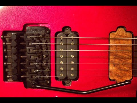 Replacing the Trem Block on a Floyd Rose Original 7-String Tremolo