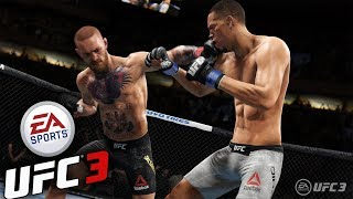 EA Sports UFC 3 Beta Gameplay Stream 2 Slam Knockouts Submissions And More