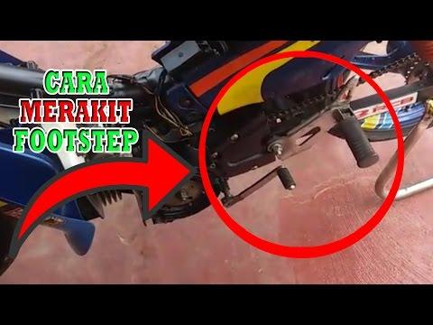 Cara Membuat Footstep Motor Balap - Cara Merakit Footstep Motor