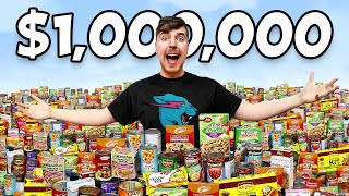 This is $1,000,000 in Food