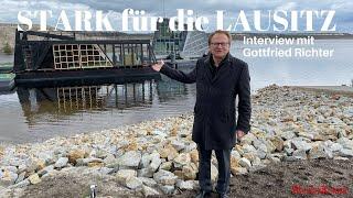 """""""STARK für die LAUSITZ"""" - Interview mit Gottfried Richter zum Industriepark Massen & Bergheider See"""
