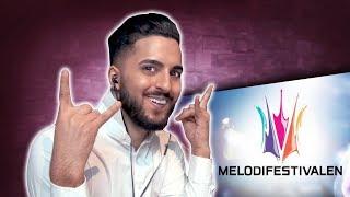 Suleyman: Reagerar på gamla Melodifestivalen!