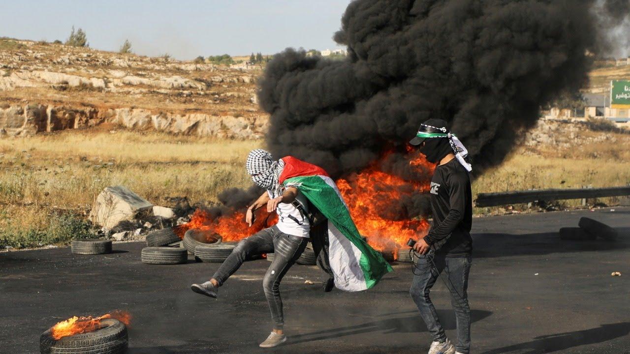 اشتباكات عنيفة في الضفة الغربية في يوم الإضراب الشامل