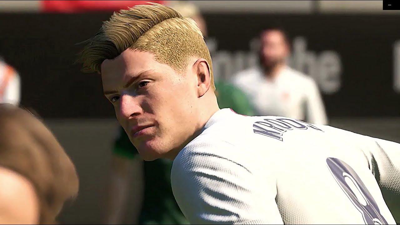 Toni Kroos Fifa 21 Pro clubs look alike tutorial   Real Madrid   Germany