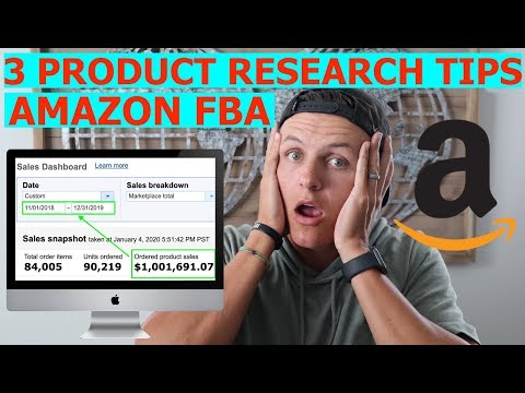 Amazon FBA Product Research Tips for Beginners!