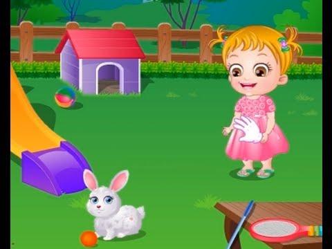 Baby Hazel - Pet Care episode - game for kids 2013