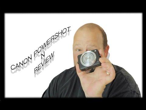 Canon PowerShot N review with photo and video samples