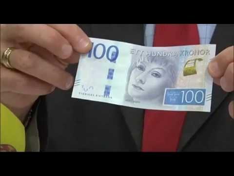 Så ser Sveriges nya sedlar ut
