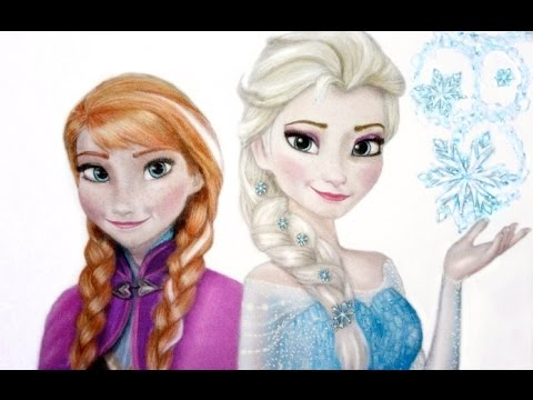 Холодное сердце Наряды для Анны и Эльзы / Frozen Outfits for Anna and Elsa
