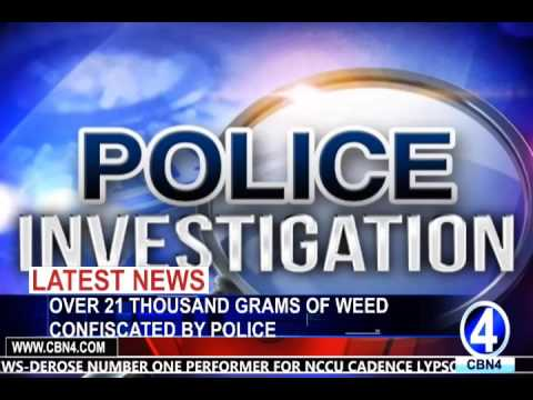 OVER 21 THOUSAND GRAMS OF WEED CONFISCATED BY POLICE
