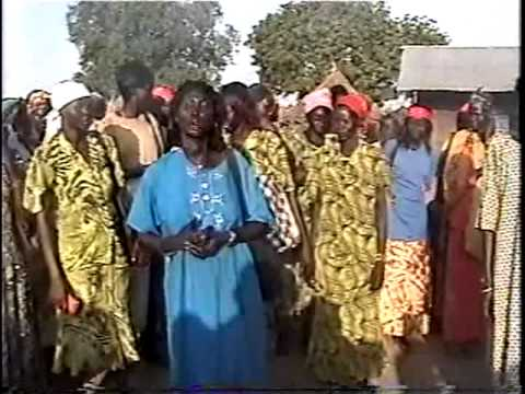 Chany woman groups during nyayan party in Nyinenyang.