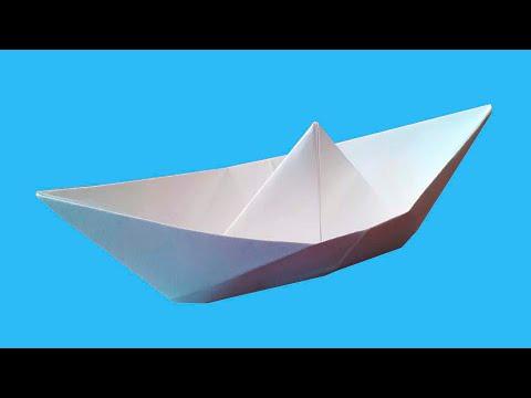 Кораблик из бумаги как сделать кораблик из бумаги своими руками