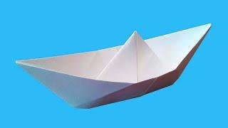 как сделать кораблик из бумаги простой способ
