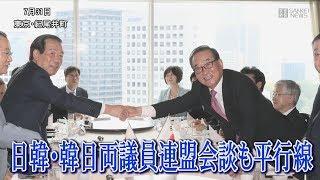 日韓・韓日両議員連盟が会談も平行線