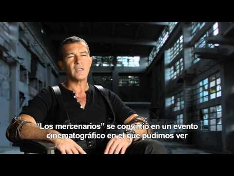 Los mercenarios 3 - Entrevista a Antonio Banderas
