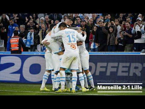 Résumé : Marseille 2-1 Lille - Ligue 1