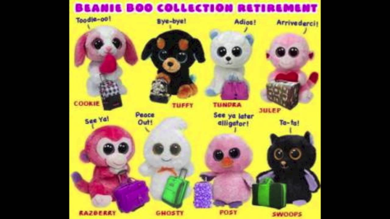 34c9de33c89 Beanie Boo Retirement No.3 of 2013 - YouTube