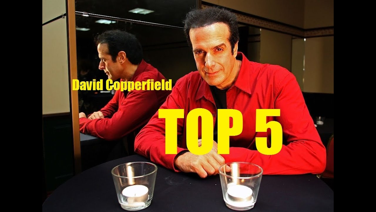 David Copperfield en iyi sihirbaz