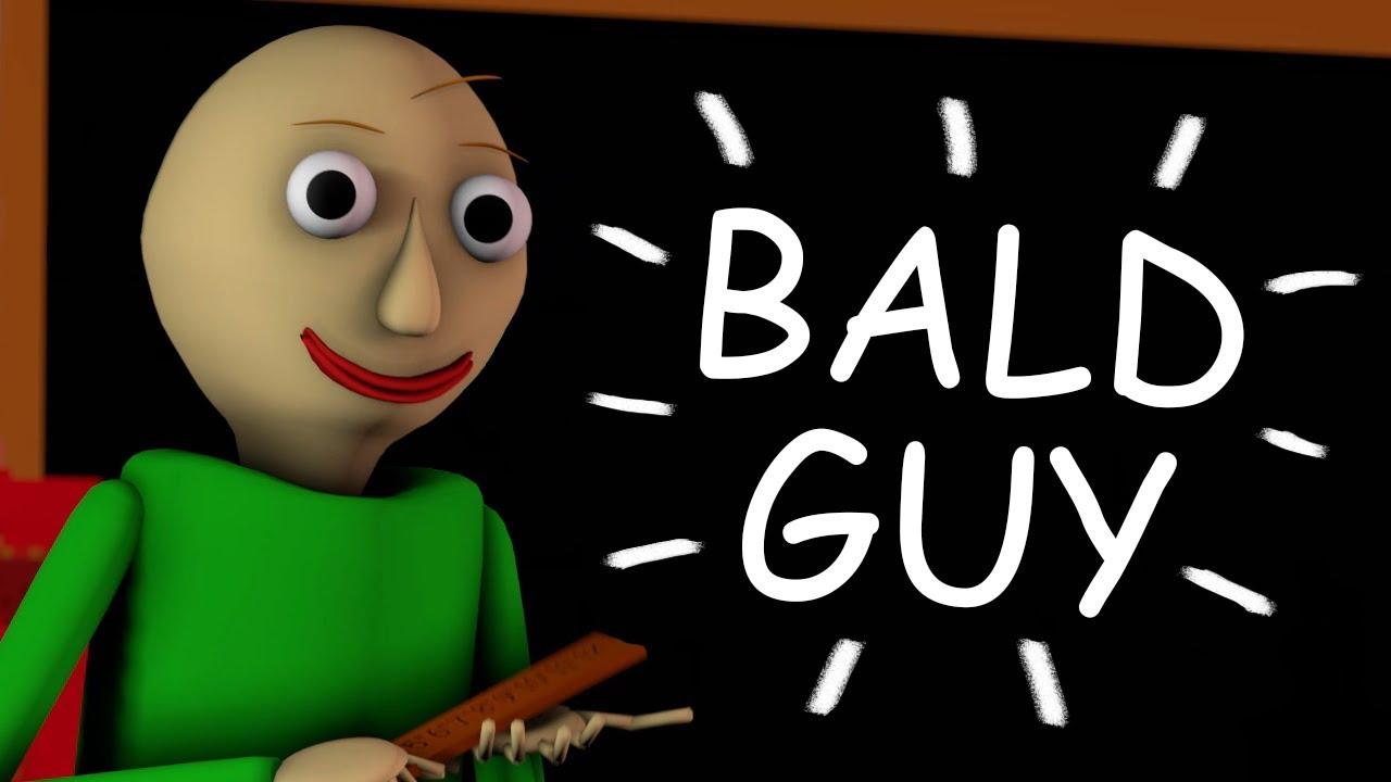Parody Cover Bald Guy By Fmg Baldi S Basic Billie Eilish