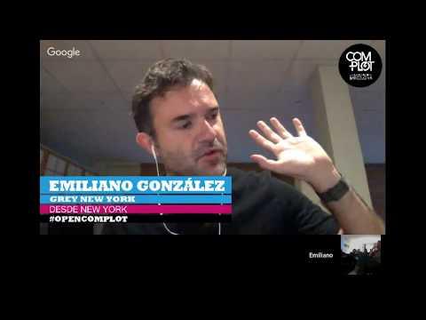 #OpenComplot con Emiliano González De Pietri, Global Executive Creative Director en Grey New York.