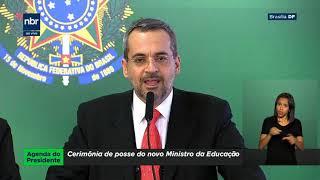 Abraham Weintraub Toma Posse Como Ministro Da Educação