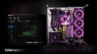 Thermaltake Toughpower Grand RGB Gold (RGB Sync Edition) Illumination in Sync with Asus AURA SYNC