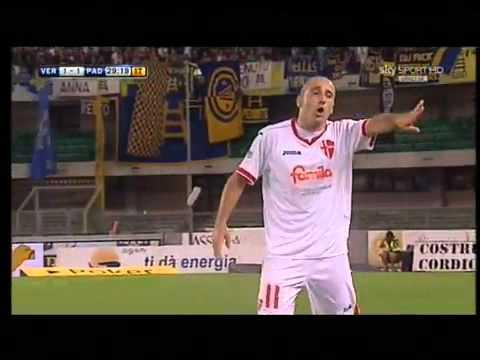 Hellas Verona 2-2 Padova gol di Cutolo CON ESULTANZA ...