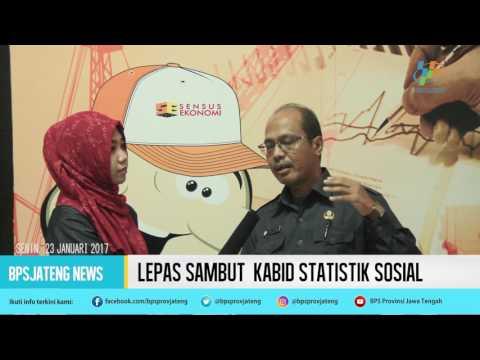Lepas Sambut Kabid Statistik Sosial BPS Prov Jawa Tengah