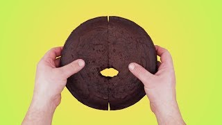 5 волшебных идей для торта: Готовится просто – выглядит роскошно.