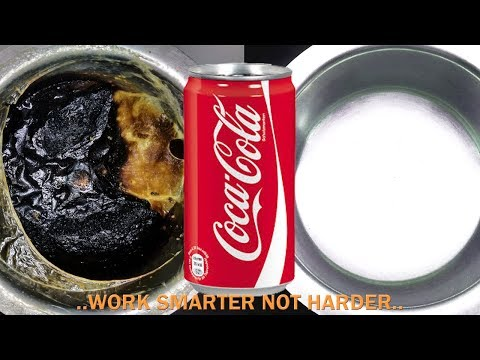 How to Clean Burnt Pan Easily-Useful Kitchen Tip-Easiest Way to Clean a Burnt  milk Pan or vessel