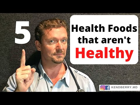 5-health-foods-that-aren't-healthy-at-all