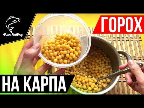 Как приготовить ГОРОХ на КАРПА? Секретный рецепт для ловли КАРПА, КАРАСЯ, САЗАНА