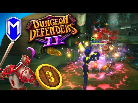 Is EV2's Weapon Manufacturer OP? Tricked Into Chaos 7 - Let's Play Dungeon Defenders 2 Gameplay Ep 3