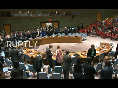 LIVE: UN Security Council meeting on human rights