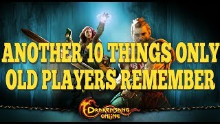 10 Things Only OLD Players Remember | Drakensang Online