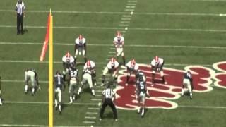 Georgia Bulldogs passing concept (Shallow, Y-Corner)