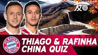China Quiz With Thiago & Rafinha❓