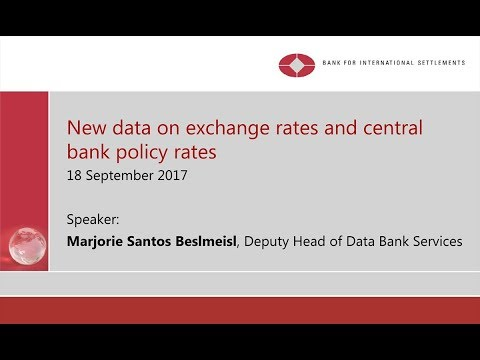 New data on exchange rates and central bank policy rates