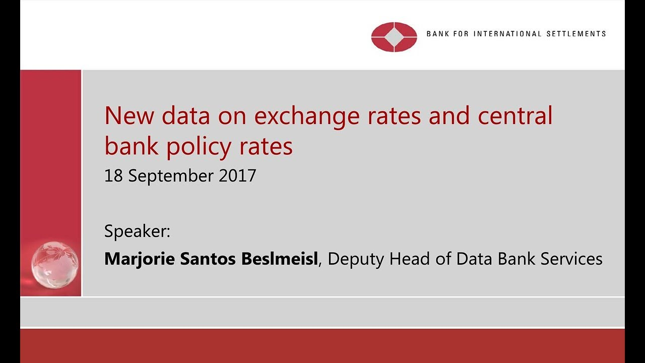 About foreign exchange statistics