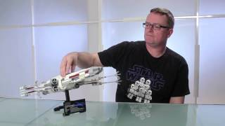 Red Five X-wing Starfighter - LEGO Star Wars - Designer Video 10240