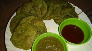 PALAK POORI | quick and healthy recipe |
