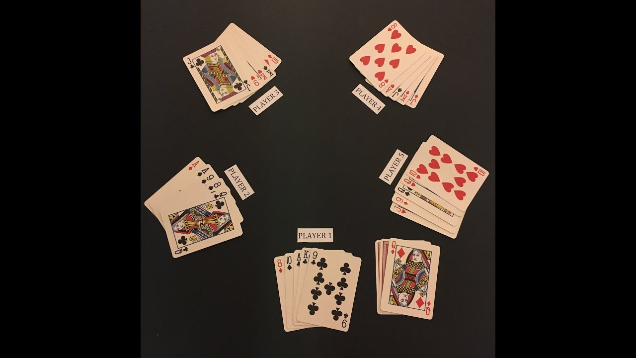 How To Play Euchre 5 Players Youtube