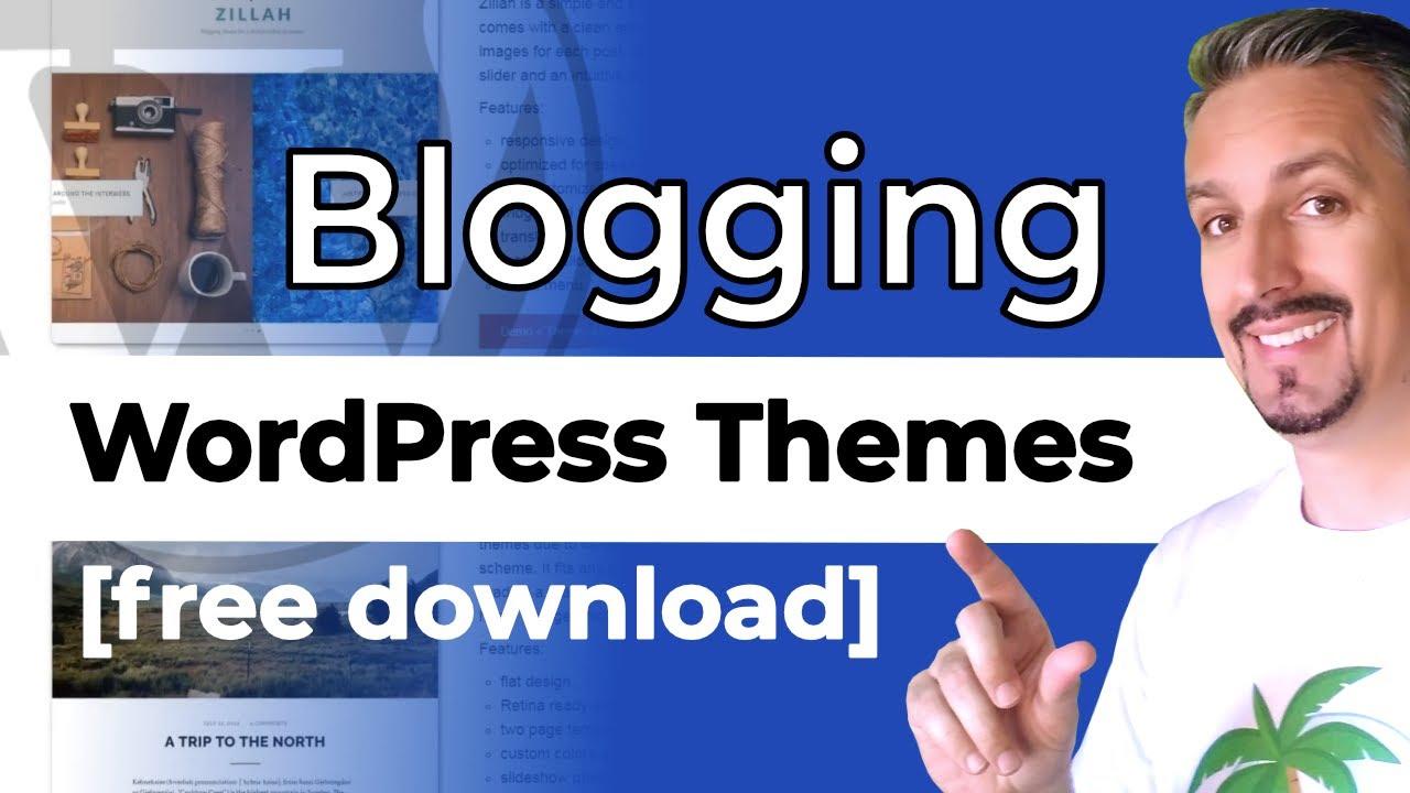 10+ Best Free Blogging WordPress Themes