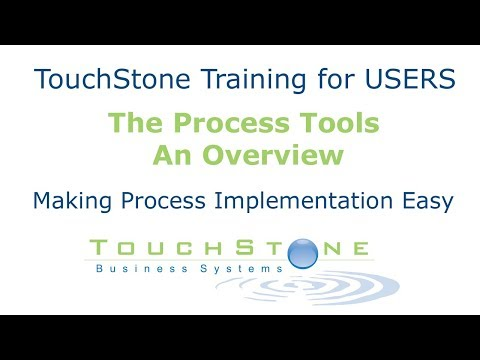 The TouchStone Process Tools: An Overview