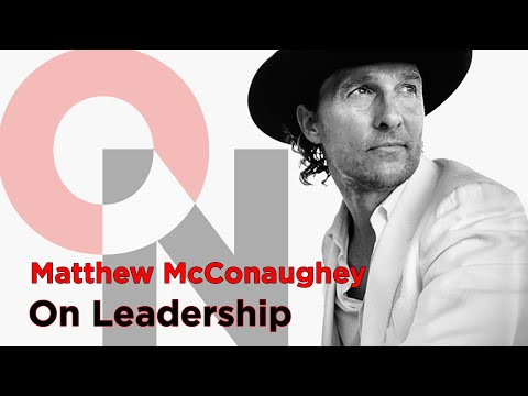 See the Green Lights In Your Life | Matthew McConaughey | FranklinCovey clip